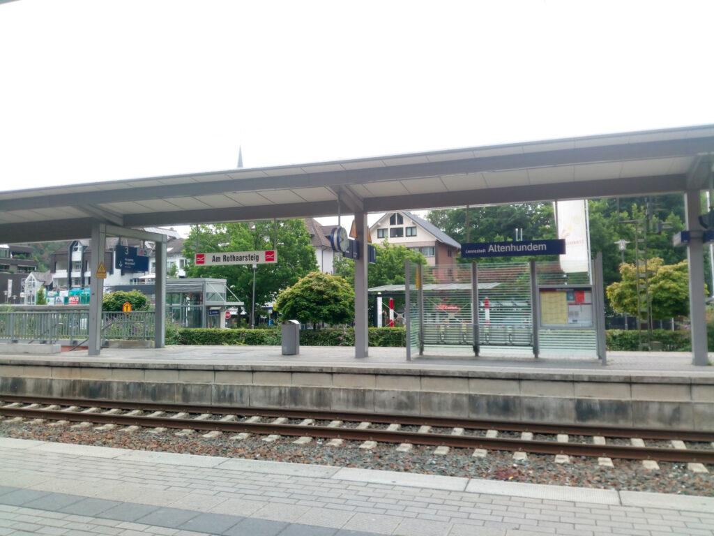 Bahnhof in Lennestadt-Altenhundem