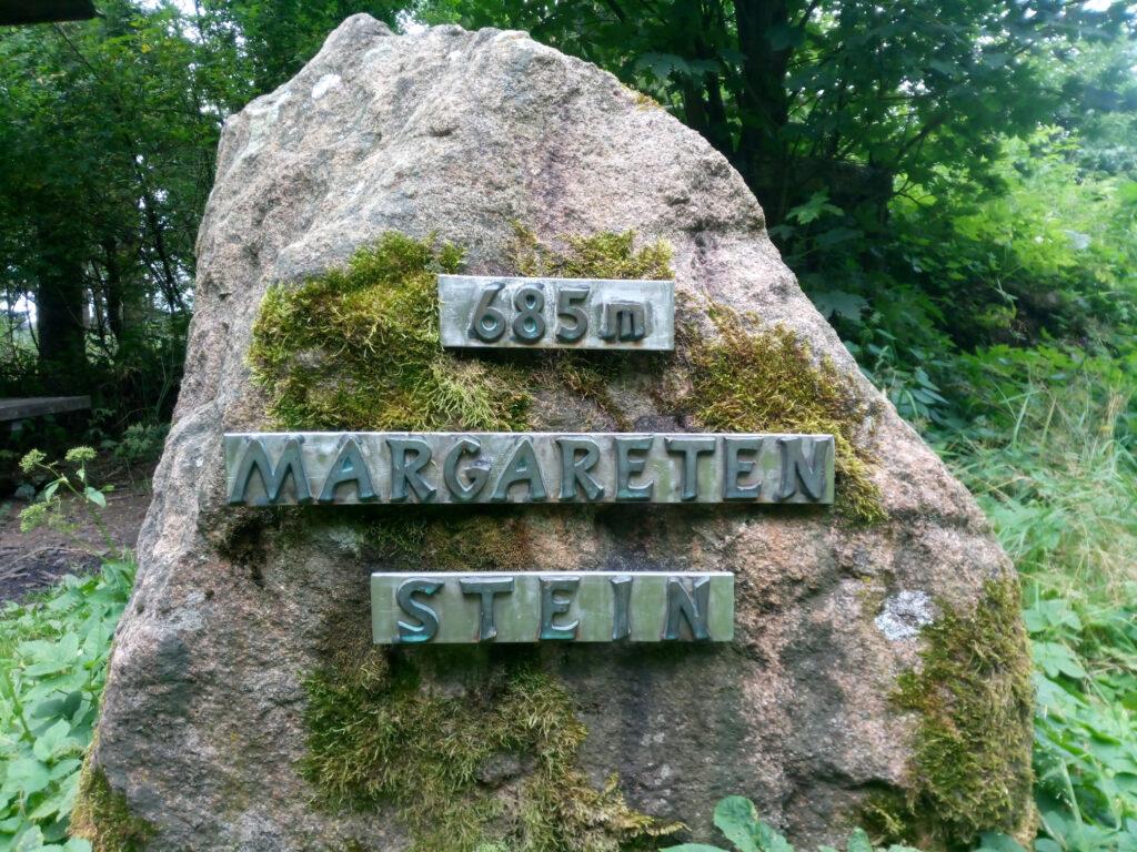 Der Margaretenstein am Rothaarsteig