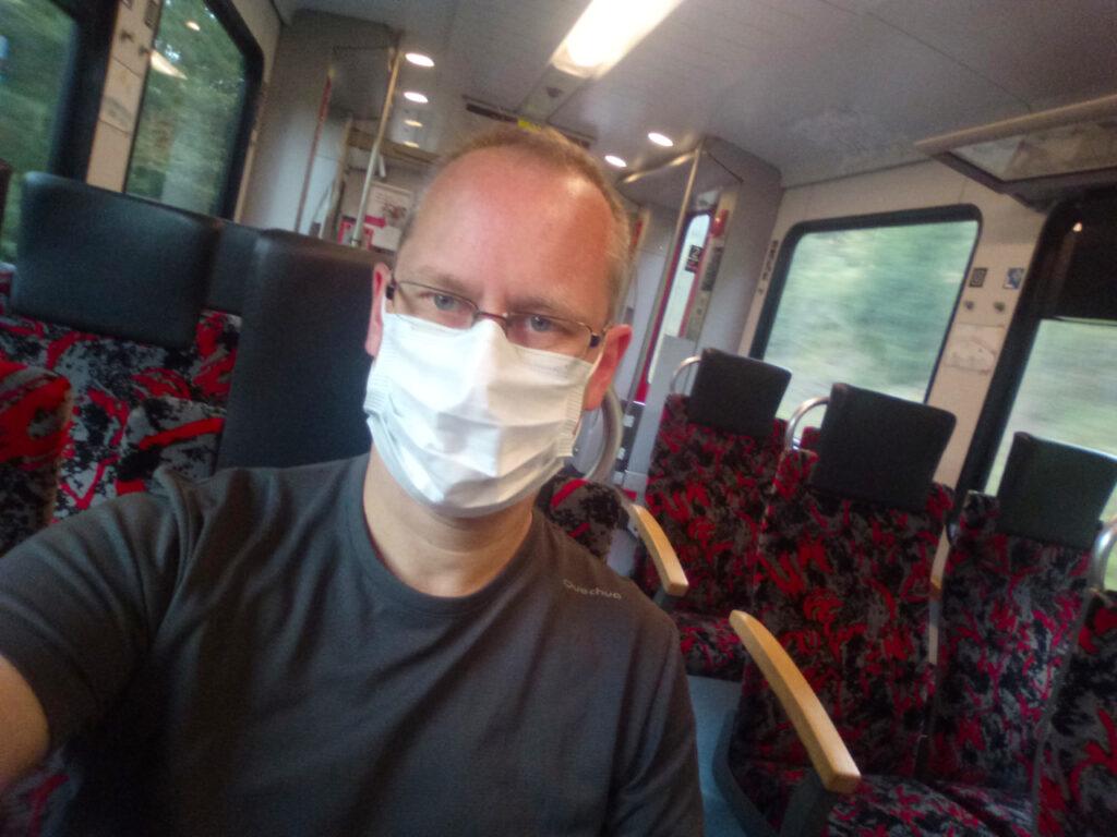 Nur ich im Zug... nix besonderes...