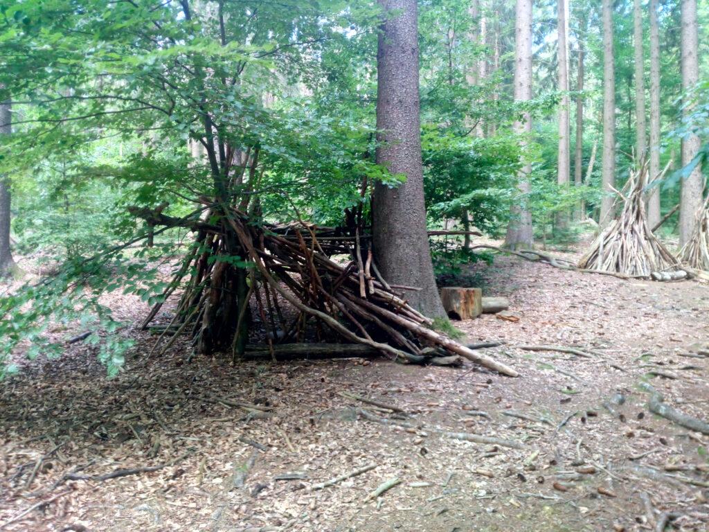 Überreste von Shelter