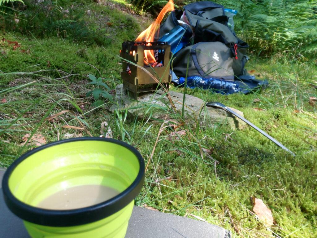 Shinrin-Yoku - Offenes Feuer und Kaffee