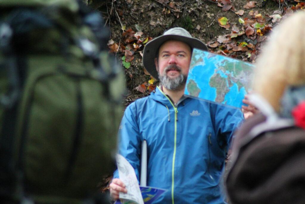 Ben Tüxen erläutert Geologisches