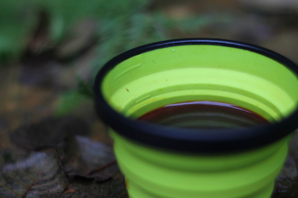 Leckerer Kaffee. Kaffee kochen auf Tour. Genieße ihn!