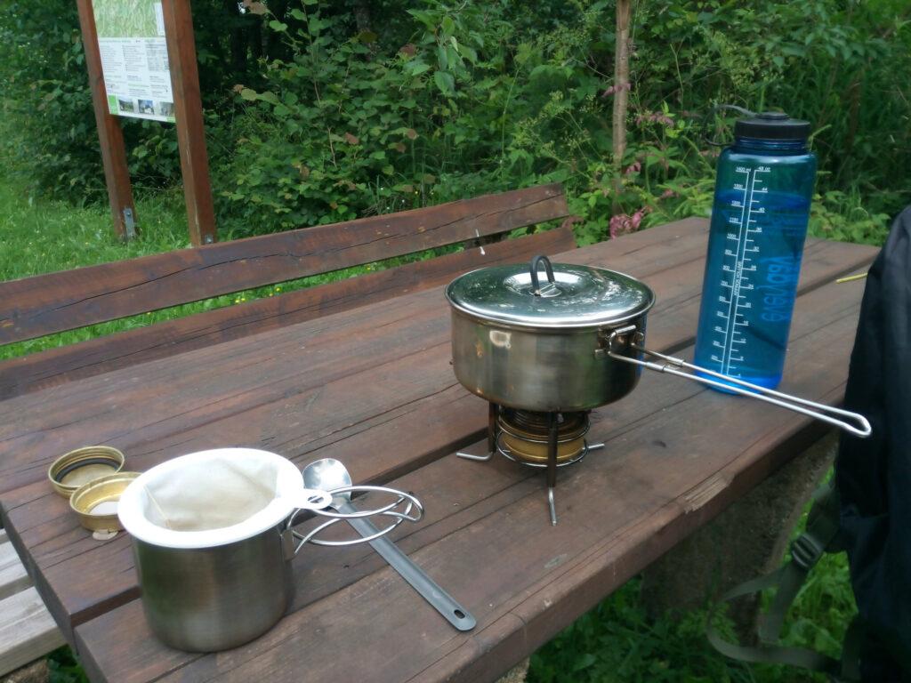 Kaffee kochen mit dem Sonja-Kaffefilter