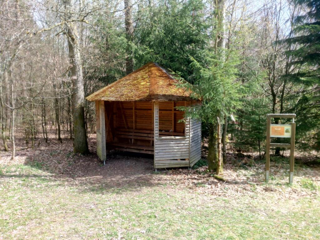 Schutzhütte am Siegerlandweg X5