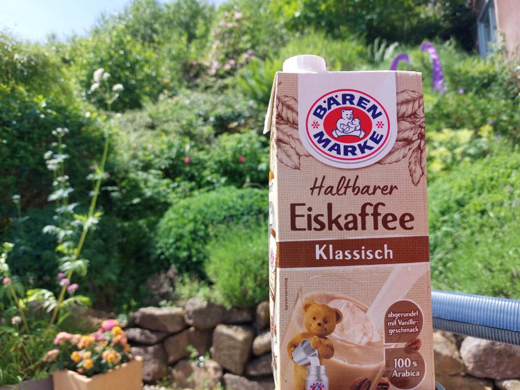 Kaffee bei Waldbrandgefahr geht! Eiskaffee!