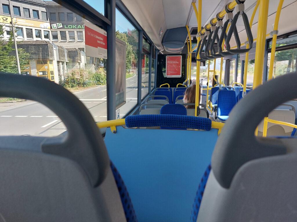 Busfahrt von Lennestadt-Altenhundem nach Schmallenberg