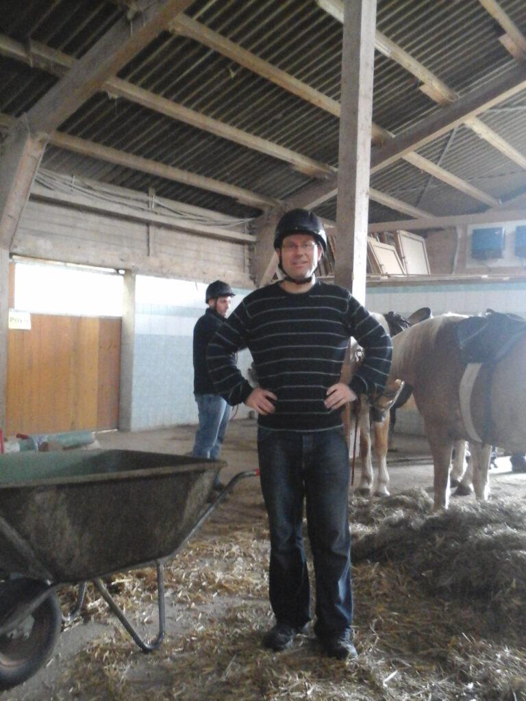 Männerreitstunden auf dem Ferienhof Rösch im Allgäu
